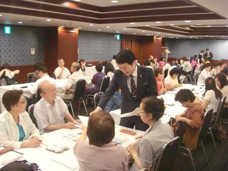 中洲・IPホテルで無料ハングル講座-総支配人・スタッフらが講師に