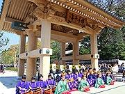博多の新たな顔に-承天寺そばに「博多千年門」が完成