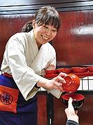 博多阪急で「東北6県うまいもの大会」 わんこそば体験も