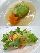 ホテルオークラ福岡、朝食ビュッフェで調理学生考案のメニュー提供