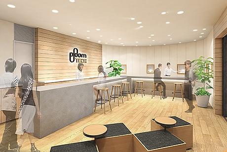 キャナルシティ博多にたばこベイパー「Ploom TECH」の専門店 日本初