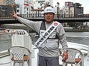 博多のリバークルーズ、よしもと芸人がお笑い船長に就任