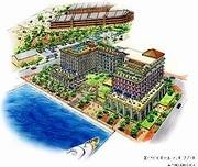 新港地区に外資系の高級アーバンリゾートホテル建設