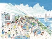 大さん橋で初開催の「横浜港大さん橋マルシェ」 大学オリジナルグルメも