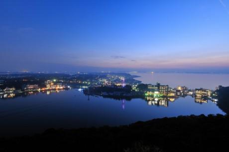 浜名湖の夜景