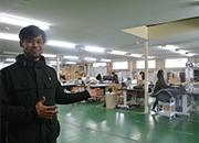 浜松の家具等の縫製加工会社が移転 長年の経験を生かし業務の幅広げる
