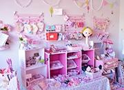 浜松のマンションの一室に雑貨店 手作りのかわいらしいアクセサリーをメーンに
