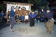 浜松で1300年の歴史を持つ祭り「西浦の田楽」 中世の伝統を継承し一晩中踊りを