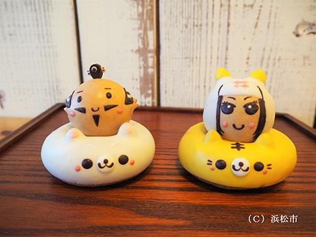 浜松のドーナツ店で家康くんと直虎ちゃんのドーナツセット 数量限定販売へ