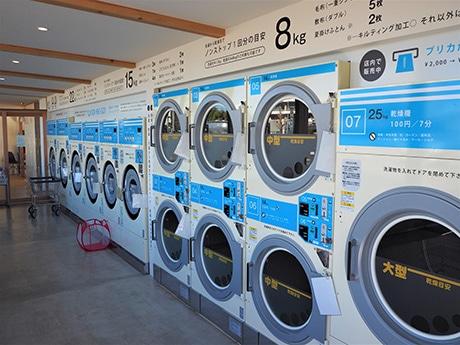 浜松・篠原町に雑貨店とカフェ併設のコインランドリー 地域の新しいスポット目指し