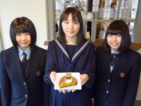 下呂の洋菓子店「ジークフリーダ」に秋限定コラボスイーツ 益田清風高生が起案