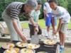 火起こしからピザ作りに挑戦-堂之上遺跡公園で「いきいき縄文フェス」