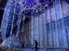 ひだしん本店に「雪と氷」のイルミネーション-2万個のLED、夜間イベントも