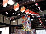 東大阪・旧河澄家で「市原卓生 凧展」 日本の伝統凧を世界に発信