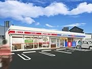 東大阪にローソン・アカカベ提携新業態店 介護支援事業所・調剤薬局併設