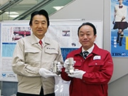 東大阪市役所で「下町ロケット」企画展 東大阪などで製造した「佃製バルブ」も