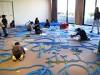 東大阪で河内の川描くワークショップ 講師は「パラモデル」中野裕介さん