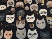 枚方のカフェ・ギャラリーで「猫」がテーマの企画展 猫の日にちなみ開催