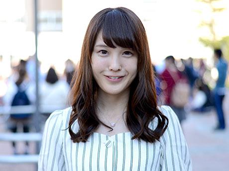 弘前経済新聞「ミス弘大コンテスト」候補者たち(7)高橋桃子さんのバストアップ写真