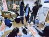弘前で「自由すぎる」書道展 「テーマはまだ秘密」作品350点