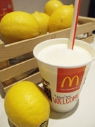 瀬戸内レモンを使った「マックシェイク」先行販売 ドナルドも商品アピール