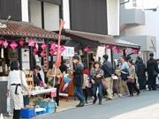 広島の「酒都」西条の酒蔵通りでまち歩きイベント 新酒の時期に合わせて