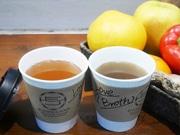 麹町のジュース専門店と人気ラーメン店がコラボ NYで人気のブロスを販売