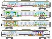 池袋駅~西武秩父駅などで「ハローキティ」ラッピング列車 秩父の魅力を発信