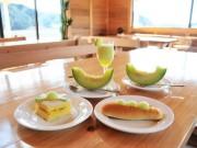 志摩の特産品「南張メロン」農園直営カフェ メニューはメロンだけ