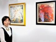 伊勢・おはらい町の「ギャラリー・カフェいっぷく」で油彩・鉛筆画展