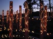 伊勢志摩サミット60日前記念、志摩で「竹あかりワークショップ」