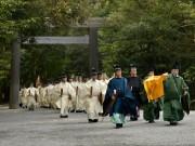 伊勢神宮で「祈年祭」 五大祭の一つ、一年の五穀豊穣祈る