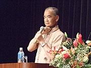 「うつろな目の少女」大城盛俊さん、沖縄戦を語る-石垣で平和講演会