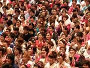 石垣市で成人式−615人が大人の仲間入り