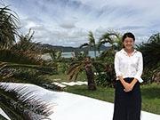 石垣のプライベートホテルがカフェ開放 眺めの良さを宿泊客以外にも