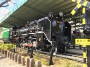 板橋・城北交通公園のD51形蒸気機関車、塗装終え装い新たに展示再開
