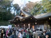 いわき・金刀比羅神社で例大祭 振り袖姿の参拝者も
