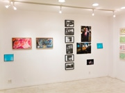 都立大駅前で詩・アート・音楽のコラボ展「三角みづ紀と14人の流動書簡」