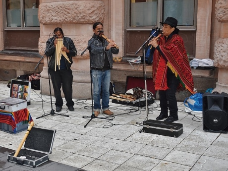 鹿児島交流センターで「ペルー文化講座」 ペルー鹿児島県人会創立100周年で