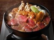 金沢駅近くに現代風にアレンジした牛鍋提供の居酒屋 地物鮮魚や地酒も