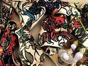 金沢で「おばけ」テーマにクラフト展 県内外作家が越前和紙や型染めなど