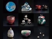 金沢で「世襲じゃない工芸作家十人展」 伝統工芸など多彩に展示