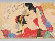 京都で18禁「春画展」 愛の営み鮮やかに、平安時代の「禁断愛」模本も