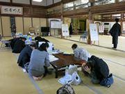 京都市で一斉「シェイクアウト訓練」 東本願寺では参拝者も参加