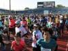 京都マラソン号砲 16000人が西京極陸上競技場をスタート