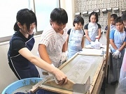 葛飾で夏休み「手拭い作り体験」 区内産業と手拭い文化学ぶ