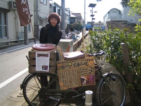 自転車の 大宮駅 自転車 販売 : ジブリ前の自転車移動販売の ...