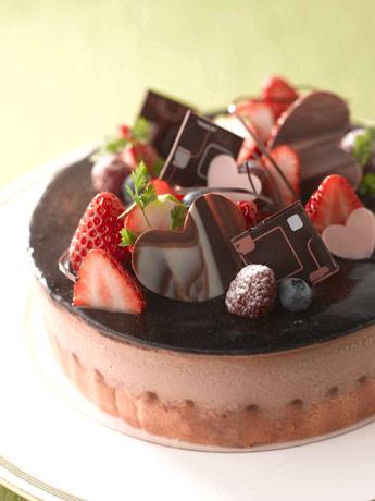 神戸のホテルで「バレンタイン」手作りケーキ教室 ...