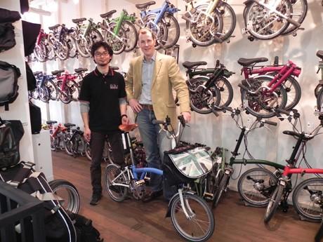自転車の 加古川 自転車 ショップ : 神戸に英折り畳み自転車 ...