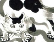 高円寺の猫ギャラリーで漫画家・イシデ電さん個展 「私という猫」原画も